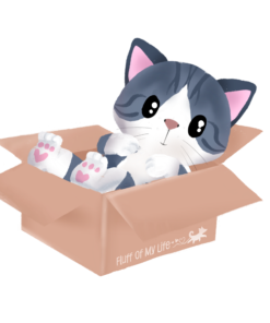Kitty-in-a-box Sticker